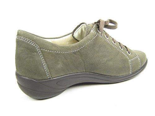 Semler B6055-014-005, Scarpe stringate donna Grigio (grigio)