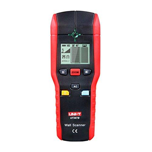 heacker Uni-T UT387B Wand Scanner Ferrous Meter NE-Metall-Detektoren Kupfer Holz Metall-Detektor-LED-Licht-Anzeige -