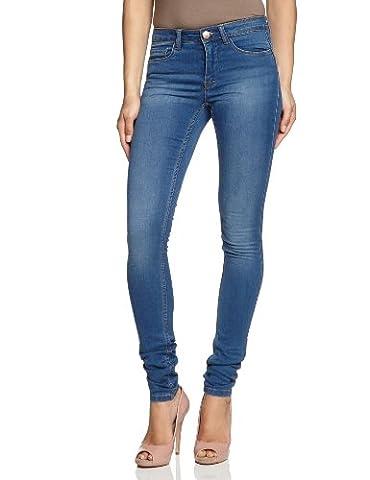 ONLY Damen Jeans 15077789/REG SOFT ULTIMATE PIM203 NOOS Skinny, Slim Fit (Röhre) ,Normaler Bund , Blau (Medium Blue Denim), S (