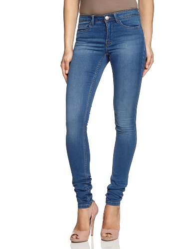 ONLY Damen Jeans SOFT ULTIMATE  NOOS Skinny, Slim Fit (Röhre) ,Normaler Bund , Blau