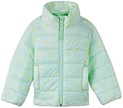 United Colors of Benetton Girls Casual Jacket (14A2HC9533B0G_Light Blue_XX)