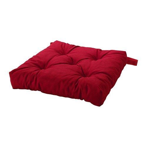 Ikea Malinda–Cuscino per Sedia, Colore: Beige Taglia Unica Rosso