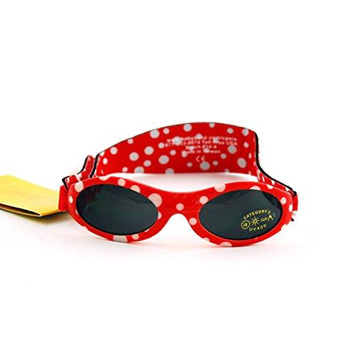 Banz Jungen Sonnenbrille Rot red dot Baby
