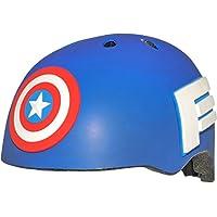 BELL Captain America Child MS 3D Casco, Infantil, Multi Coloured, 50-54 cm