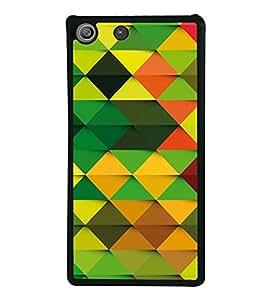 Colourful Pattern 2D Hard Polycarbonate Designer Back Case Cover for Sony Xperia M5 Dual :: Sony Xperia M5 E5633 E5643 E5663