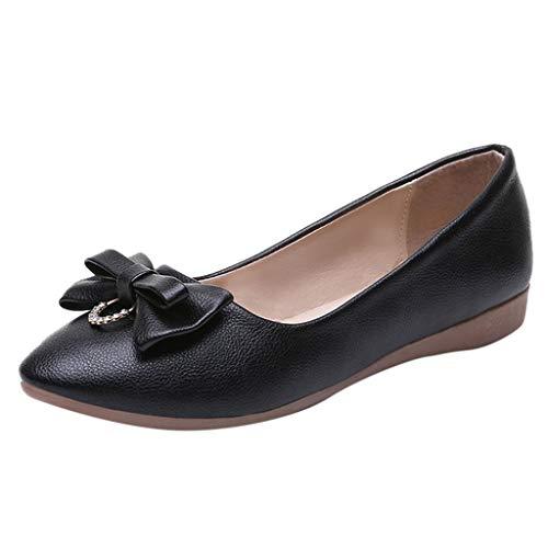 Wawer_Damen Sandalen  Sommer 916 Spitzen Bogen Strass Damen einzelne Schuhe Freizeitschuhe Arbeitsschuhe Flache Schuhe