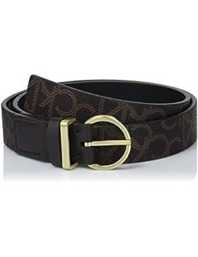 Calvin Klein Damen Gürtel Marissa Monogram Belt, 2er Pack