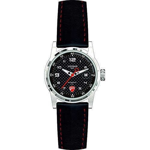 Reloj de Hombre Ducati automático Negro y Rojo Locman