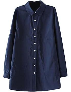 Camisa De Vestir Informal Que Basa La Camisa De Rayas De Impresión Camisa De Manga Larga