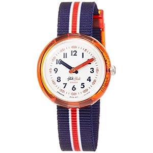 FlikFlak Jungen Analog Quarz Uhr mit Stoff Armband FPNP026
