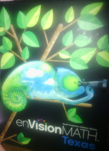 Envision Math 4 (TX) w/CD