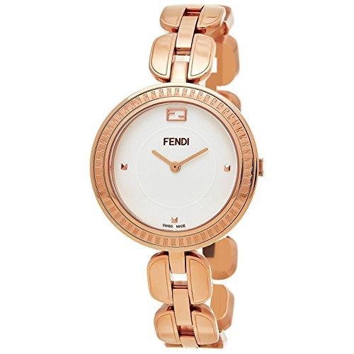 FENDI Women's My Way 36MM Steel CASE Swiss Quartz White DIAL Watch F351534000