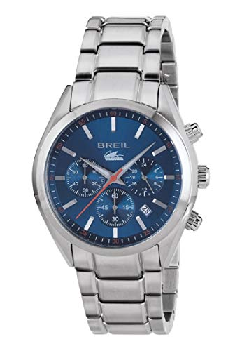 Breil orologio cronografo quarzo uomo con cinturino in acciaio inox tw1605