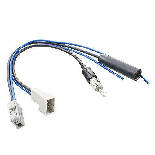 Antennen-Adapter Set für Honda Mazda Suzuki Adapterset für DIN-Antennenanschluss