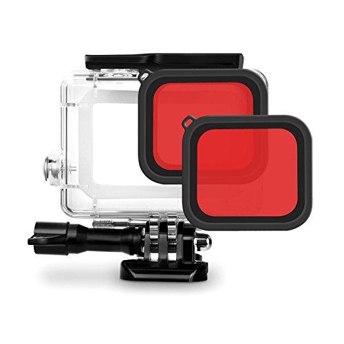 Filtre Rouge pour iTrunk GoPro Hero 7 Black Hero 2018 Hero 6 Hero 5 Boîtier de Logement