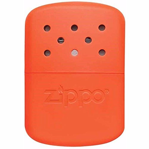 Zippo Handwärmer 12 Stunden Orange Outdoor Indoor Winddicht Feuerzeug Free Custom personalisierte Gravur Nachricht Dauerhafte Lebenslange Gravur auf der Rückseite Orange