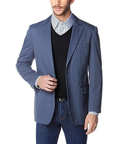 Veston Hommes de classe Bleu