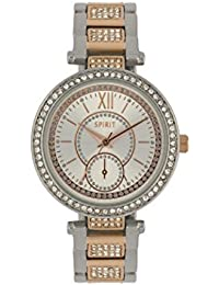 Spirit Ladies Analogue Round 2 Tone Bracelet Watch ASPL97X