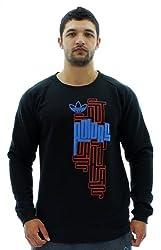 Mens Adidas Originals Fleece Crewneck Athletic Sweatshirt (XXL)