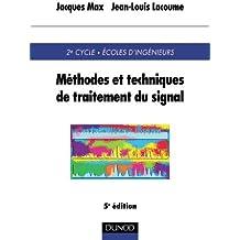 Méthodes techniques de traitement du signal