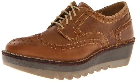 Fly London Jane, Chaussures de ville femme - Marron (Brown P210705000), 38 EU