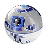 LAZERBUILT SPSW-R2D2 Star Wars Mini Haut-Parleur Portable Filaire  - Personnage R2D2 - Batterie Rechargeable Intégrée - Compatible avec smartphones, lecteur MP3, iPods