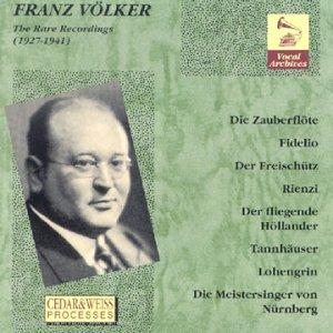Preisvergleich Produktbild Franz Völker - The Rare Recordings
