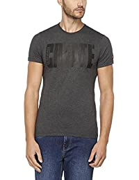 Being Human Mens Regular Fit Crew Neck Printed T-shirt