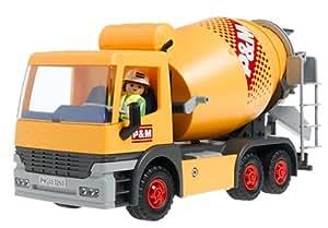 Playmobil 3263 b tonni re et chauffeur - Betonniere playmobil ...