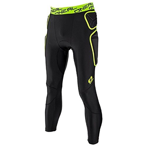 Pantalón Protector Mx Oneal 2018 Trail Lime-Negro (L , Verde)