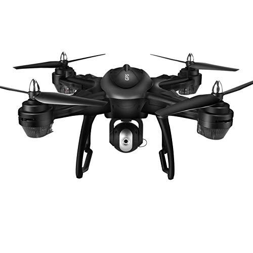 AIUYER FPV Drohne Quadrocopter Dual GPS mit HD Kamera und Follow me Funktion Live Übertragung mit Hochhaltung Kopflos Modus Ideal -