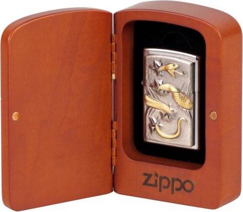Zippo 16106 Feuerzeug, Chrome 8.5x6x3.5 cm