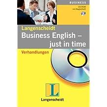 Langenscheidt - Just in time Business English: Verhandlungen
