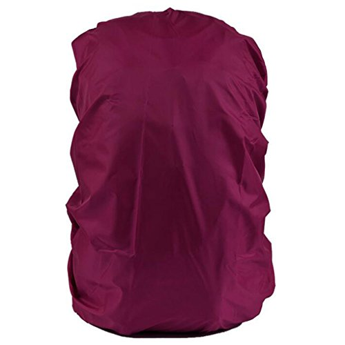 Imported Waterproof Travel Camping Hiking Backpack Dust Rain Cover 30L-40L -Deep Pink  available at amazon for Rs.250