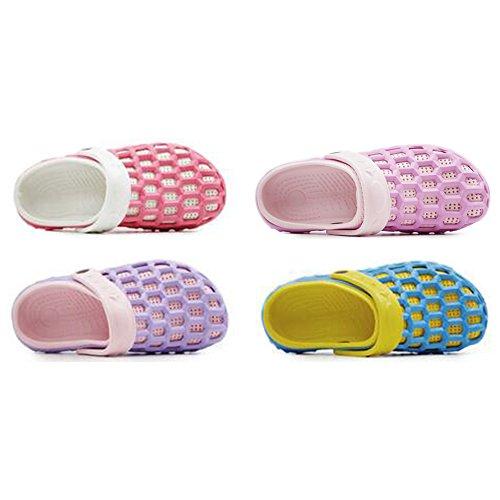 Eastlion EVA Paar Strand Garten Schuhe Sommer Mode Beiläufige halbe Hausschuhe für Liebhaber Weiblich Stil 2 Pink