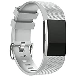 For Fitbit Charge 2 Replacement Band ,Fulltime(TM) Fashion Sports Silicone Bracelet Strap Band For Fitbit Charge 2