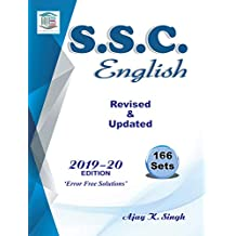 SSC English Revised & Updated Previous Papers (2013 - 2019) 166 set Ajay Singh MB Publication Latest Edition 2019 - 2020