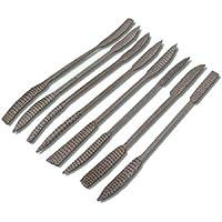 Toolzone - Juego de escofinas de codillo para madera (8 unidades)