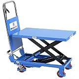 Hubtischwagen fahrbarer Hubtisch Plattformwagen Plattenhubwagen 150kg bis 1500kg