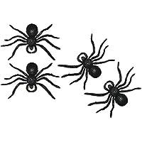4x Giant Monster ragni finti Disgustoso spaventoso decorazione di Halloween horror party accessori