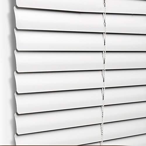 Veneziana Tende Antivento Metallo, Schermo A Rullo con Filo Premium per Ufficio/Casa, Multi-Size, Bianco (Dimensioni : 135x170cm)