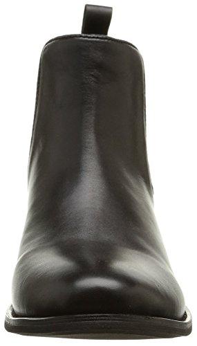 Elle Suchet, Damen Chelsea Boots Schwarz (Noir)