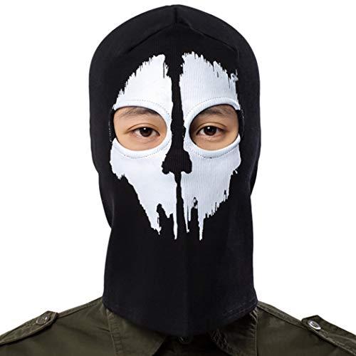Fansport Sport Gesichtsmaske Warme Winddichte Maske FüR Halloween AktivitäTen