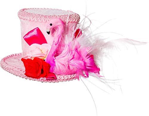 Orlob Fasching Hut Minihut Flamingo mit ()