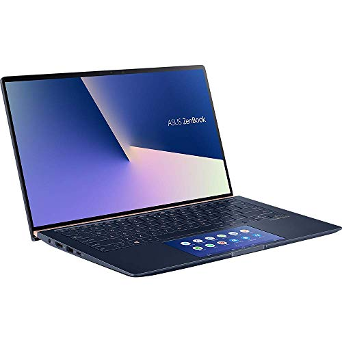 ASUS ZenBook 14 UX434FL (90NB0MP1-M00480) 35,5cm (14 Zoll, FHD, WV, Glare) Ultrabook (Intel Core i7-8565U, 8GB RAM, 512GBSSD, NVIDIA MX250 (2GB), Windows 10) Royal Blue