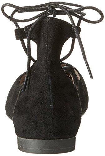 Tamaris 24200, Ballerines Femme Noir (BLACK SUEDE 004)