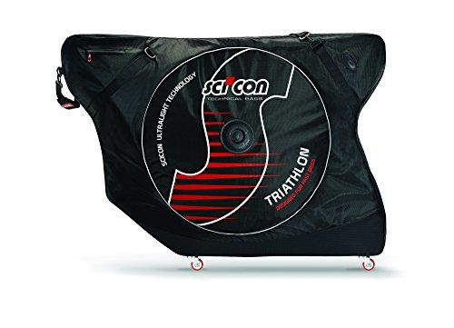 Sci Con - Aeroconfort Triathlon, Maleta de Ciclismo, Negro