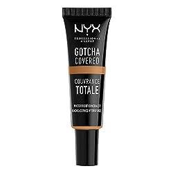 Nyx Professional Makeup Gotcha Covered Concealer, Deep Honey, 8ml