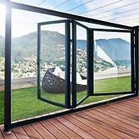 Slimline Aluminium zusammenklappbar Türen (100mm)–5bereits Platten