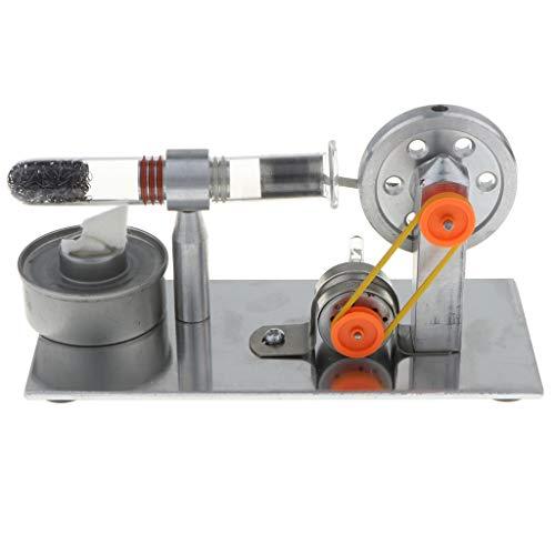 KESOTO Stirlingmotor Schwungrad Wärmeenergie Generator Stirling Engine Motor Modell für Physik Unterricht Lernmittel